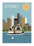 Sydney Australië. Royalty-vrije Stock Afbeeldingen