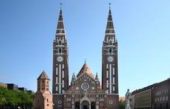 De stad in van Szeged Hongarije royalty-vrije stock fotografie