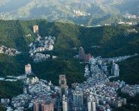 De stad van Taipeh Stock Fotografie