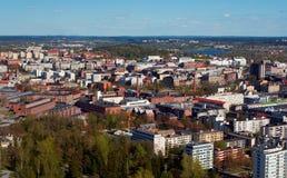De stad van Tampere royalty-vrije stock foto