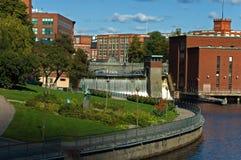 De stad van Tampere Royalty-vrije Stock Fotografie