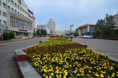 De stad van Tchita Royalty-vrije Stock Foto