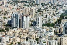De stad van Tel Aviv Stock Afbeeldingen