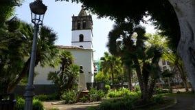 De stad van Tenerife Stock Afbeeldingen
