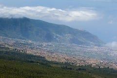 De stad van Tenerife Royalty-vrije Stock Afbeeldingen