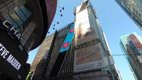 De Stad van Times Squarenew york op 4 Juli, 2019 -3 stock videobeelden
