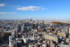 De stad van Tokyo royalty-vrije stock foto