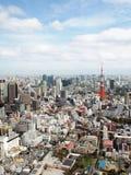De stad van Tokyo Stock Foto