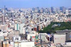 De stad van Tokyo royalty-vrije stock foto's