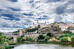 De stad van Toledo Royalty-vrije Stock Afbeeldingen