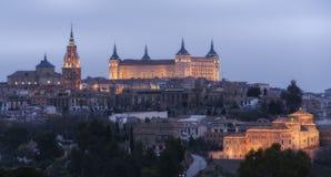 De stad van Toledo royalty-vrije stock foto