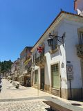 De stad van Tomar Portugal royalty-vrije stock foto