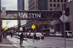 De stad in van Toronto Royalty-vrije Stock Foto