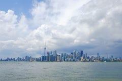 De stad van Toronto in Canada stock afbeelding