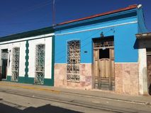 De stad van Trinidad in Cuba, oud huis Royalty-vrije Stock Fotografie