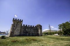 De stad van Trogir, Kroatië royalty-vrije stock foto's
