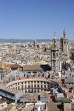 De stad van Valencia Stock Foto's