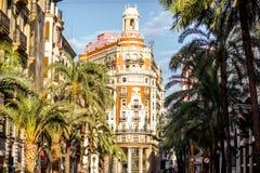 De stad van Valencia in Spanje Stock Foto