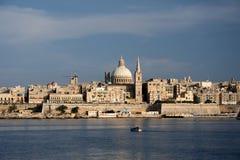 De stad van Valletta Royalty-vrije Stock Foto