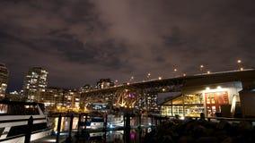 De Stad van Vancouver Stock Foto