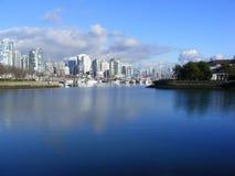 De stad van Vancouver Royalty-vrije Stock Foto
