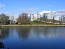 De stad van Vancouver Royalty-vrije Stock Fotografie