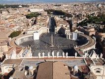 De stad van Vatikaan Royalty-vrije Stock Fotografie