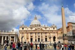 De Stad van Vatikaan Royalty-vrije Stock Foto