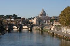 De stad van Vatikaan Stock Afbeelding