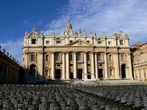 De Stad van Vatikaan, Rome Stock Foto