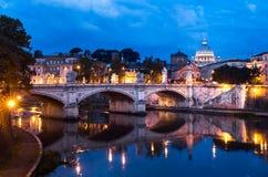 De Stad van Vatikaan, Rome Stock Afbeelding
