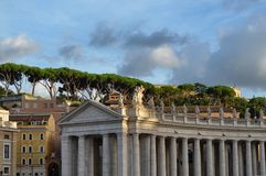 De Stad van Vatikaan, Rome, Italië stock afbeelding