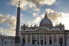 De Stad van Vatikaan, Rome, Italië stock fotografie
