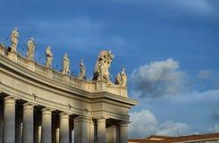 De Stad van Vatikaan, Rome, Italië stock afbeeldingen