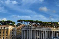 De Stad van Vatikaan, Rome, Italië royalty-vrije stock foto