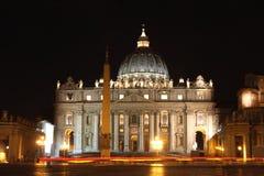 De Stad van Vatikaan in Rome, Italië Stock Foto