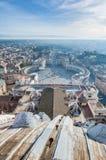 De Stad van Vatikaan in Rome, Italië Stock Foto's