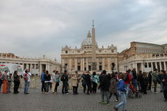 De Stad van Vatikaan, Rome, Italië, Italië Royalty-vrije Stock Foto