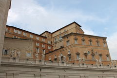 De Stad van Vatikaan, Rome, Italië, Italië Stock Foto's