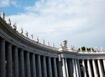 De Stad van Vatikaan (Stato-della Cittàdel Vaticano) Stock Afbeeldingen