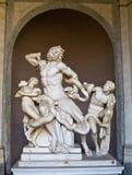 De Stad van Vatikaan van het standbeeld van Laoco?n stock foto