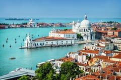 De stad van Venetië in Italië