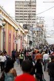 DE STAD VAN VENEZUELA VALENCIA VAN ZUID-AMERIKA stock foto