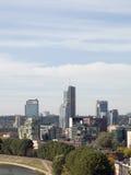De stad van Vilnius stock foto