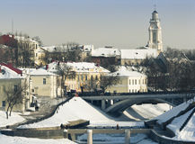 De stad van Vitebsk royalty-vrije stock afbeelding