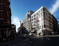 De Stad van weinig Italië, Manhattan, New York, NY Stock Afbeelding