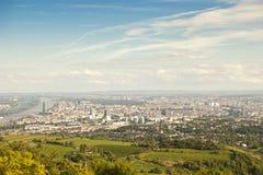 De stad van Wenen, Oostenrijk Stock Fotografie