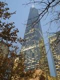 De stad van Wtcnew york stock foto's