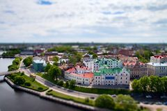 De stad van Wyborg Royalty-vrije Stock Fotografie