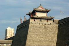 De stad van Xi'an Stock Afbeeldingen